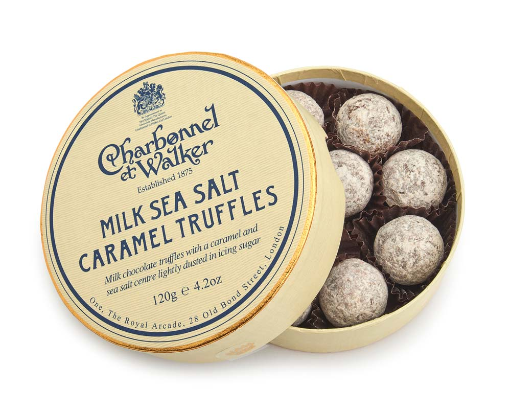 Charbonnel et Walker Milk Sea Salt Caramel Truffles - Spirito